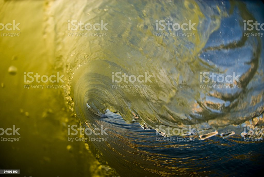 Liquid Gold royalty free stockfoto