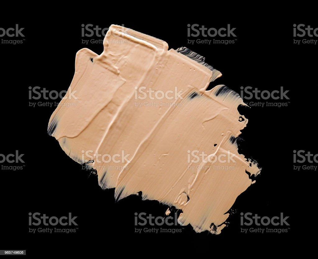 Liquid Make Up Foundation Black Background - Royalty-free Abstract Stock Photo