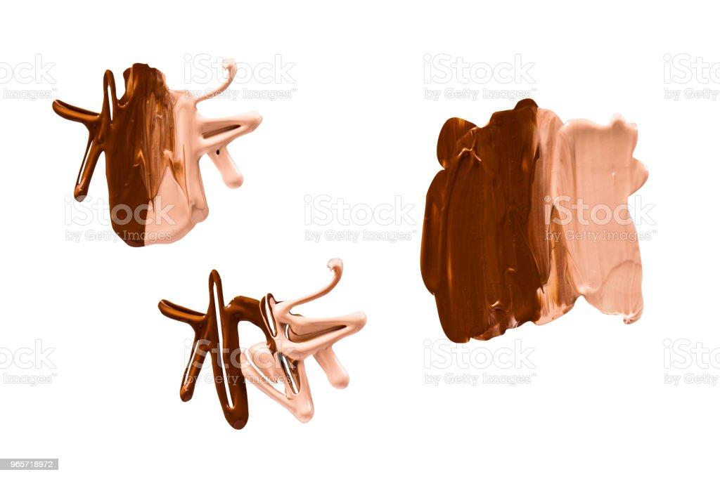 Liquid Make Up Foundation - Royalty-free Abstract Stock Photo