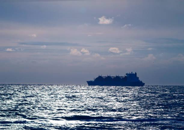 Flüssiges Erdgas-Schiff – Foto