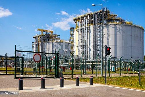 Liquid natural gas storage station, Swinoujscie, Poland