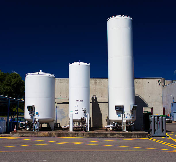 Liquid Nitrogen container Liquid Nitrogen container nitrogen stock pictures, royalty-free photos & images