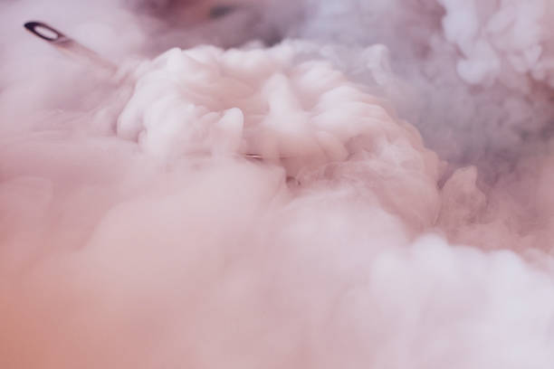 liquid nitrogen for cooking culinary masterclass Molecular Chef liquid nitrogen stock pictures, royalty-free photos & images