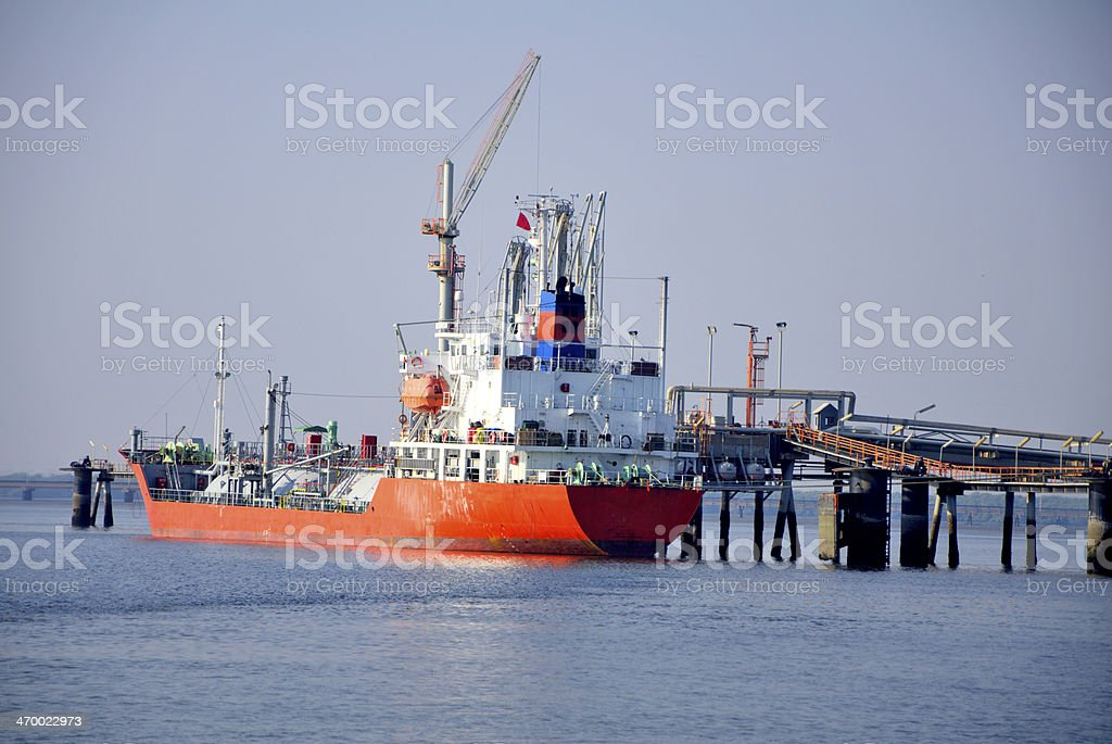 Liquid Petroleum Gas , Ship stock photo