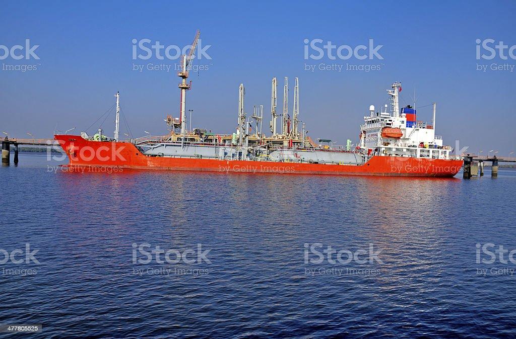 Liquid Petroleum Lpg Cargo Unloading Stock Photo & More