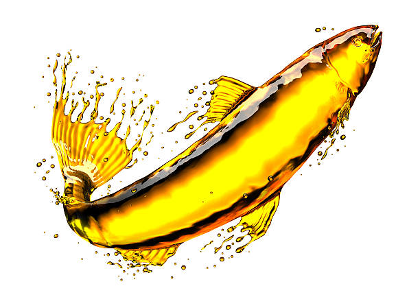 liquid - cod liver oil stock photos and pictures