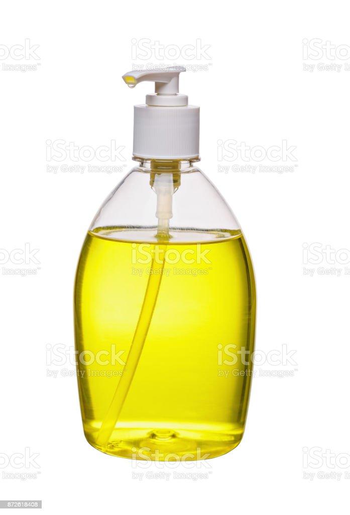 Garrafa de sabão líquido - foto de acervo