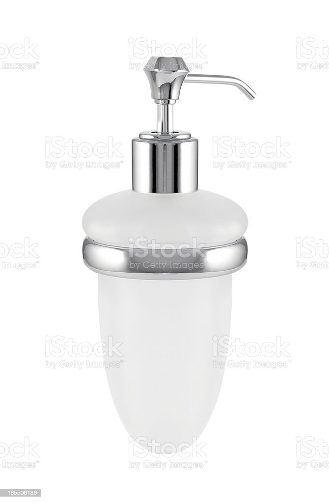 liquid soap container isolated royalty-free stock photo