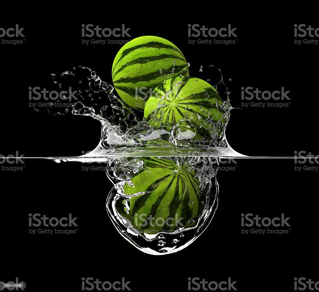 Liquid splash stock photo