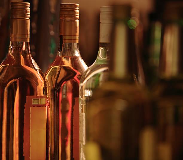 Alcools bouteilles - Photo