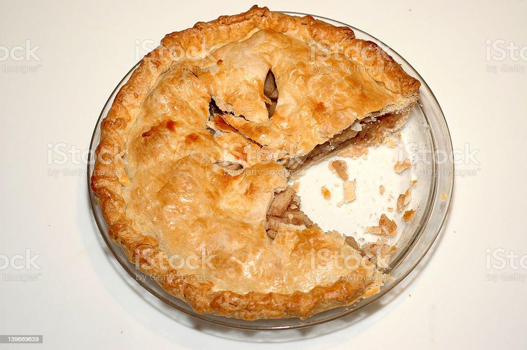 Lisa's Apple Pie #1 royalty-free stock photo