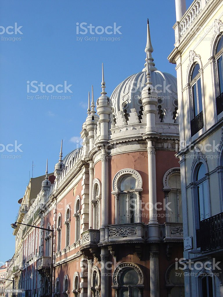 Lisboa view3 royalty-free stock photo