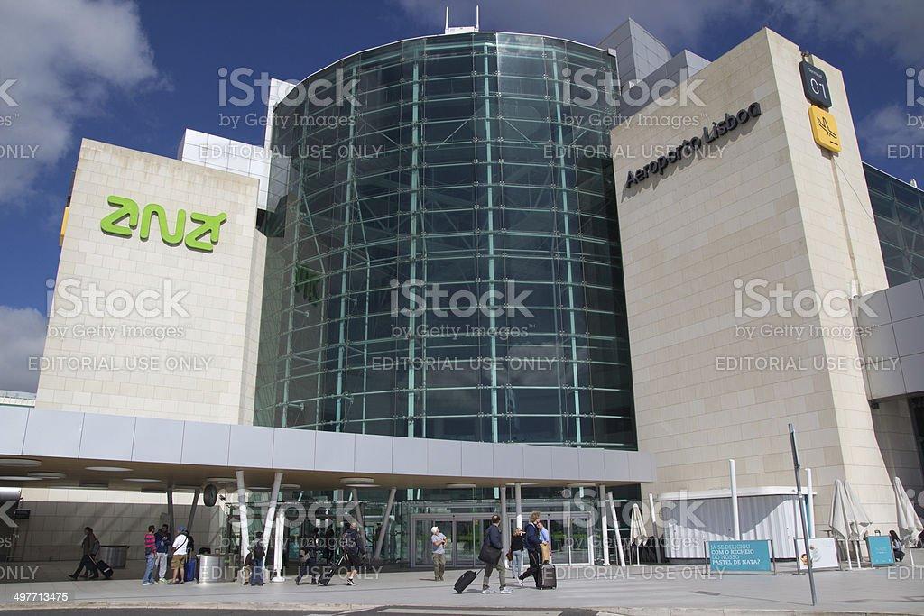 Aeroporto de Lisboa - foto de acervo