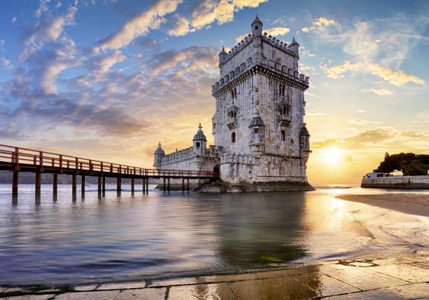 Lissabon, Turm von Belem - Tejo, Portugal – Foto