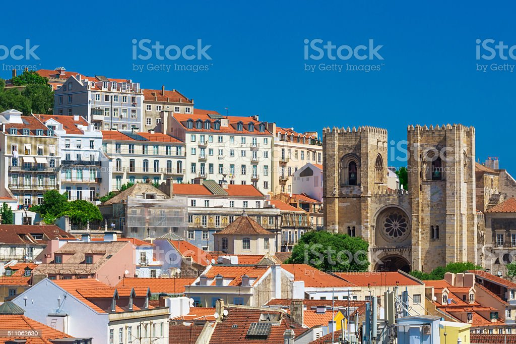 capital de Lisboa, Portugal - fotografia de stock
