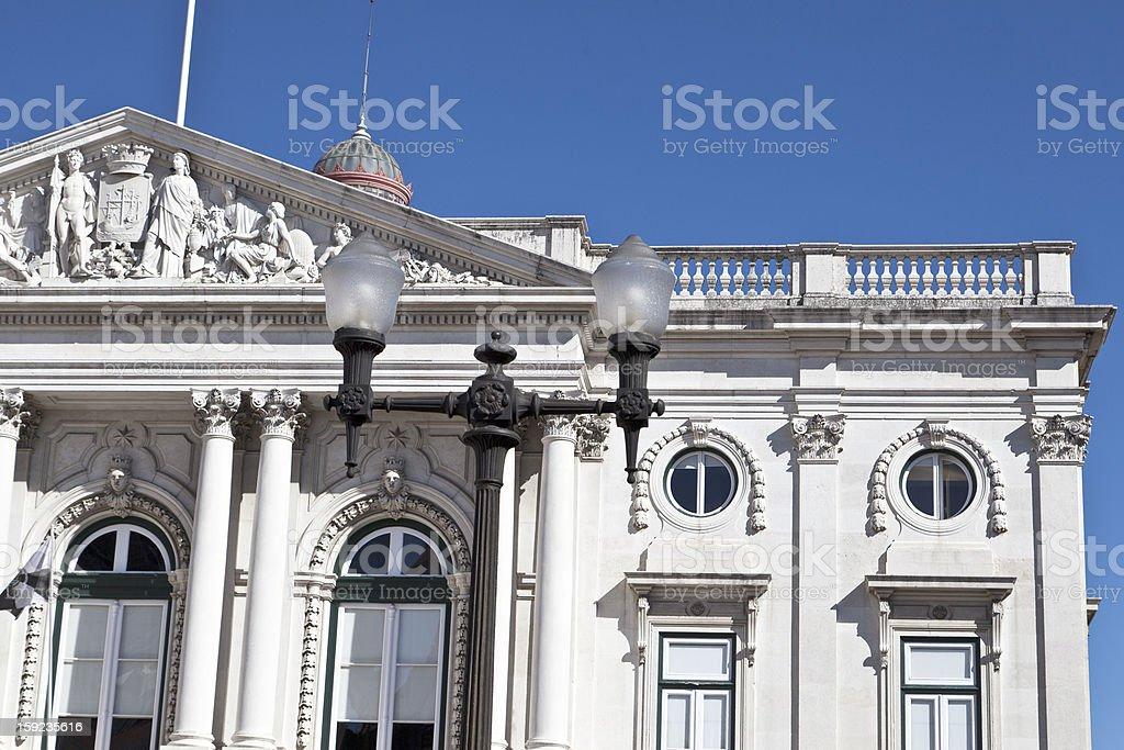 Lisbon City Hall royalty-free stock photo