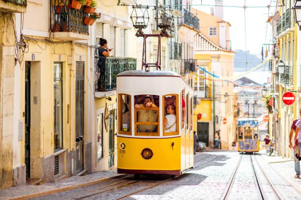 lisbon city in portugal - lisbona foto e immagini stock