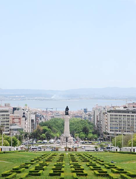 Lisbon cityscape stock photo