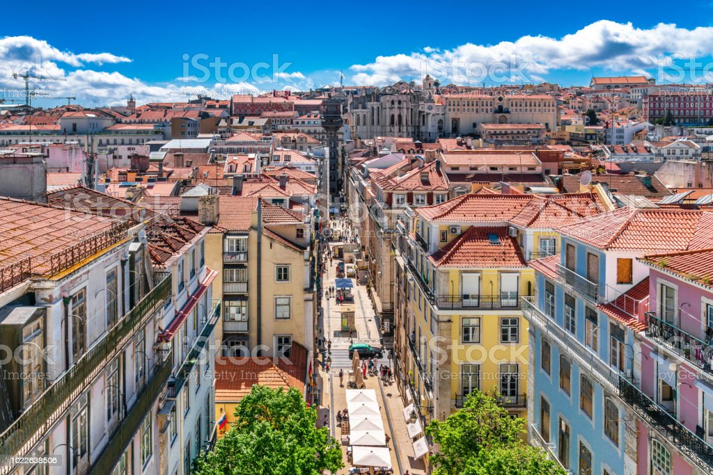 Lisbon Cityscape - Portugal stock photo