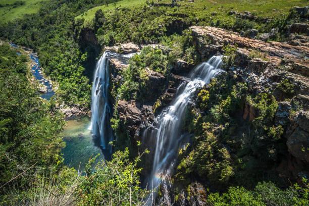 Lisbon Falls in Mpumalanga, South Africa stock photo