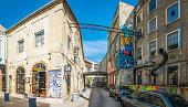 Lisbon LX Factory hipster shops studios creative quarter panorama Portugal