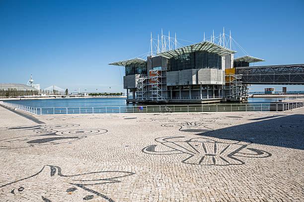 Oceanário de Lisboa, Lisbon, Portugal stock photo