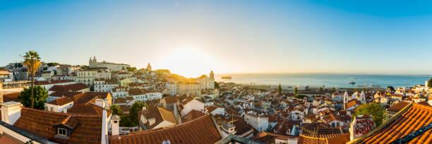 Lissabon Portugal Alfama europäischen Lage Urlaub Destination Landschaft Altstadt – Foto