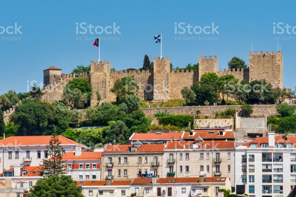 Lisbon, Portugal Cityscape and Skyline stock photo