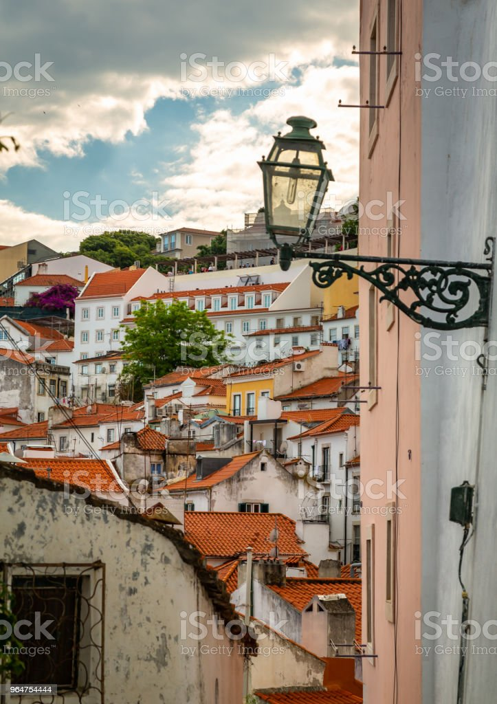 Lisbon Portugal Cityscape At The Alfama District Stock Photo & More Pictures of Alfama