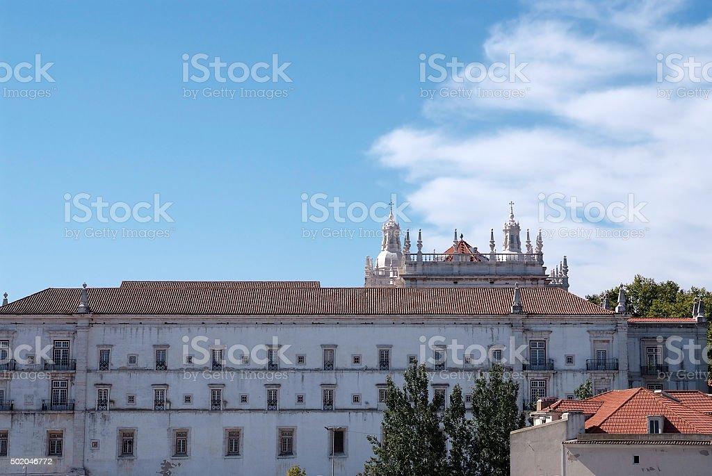 Lisbon - the Monastery of São Vicente de Fora.. stock photo
