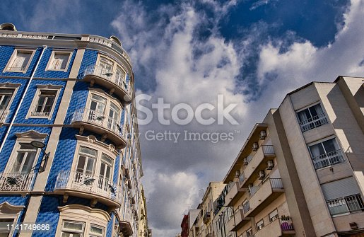 Lisbon, Day, dark, rough, rain, individuality, city, street, architecture,