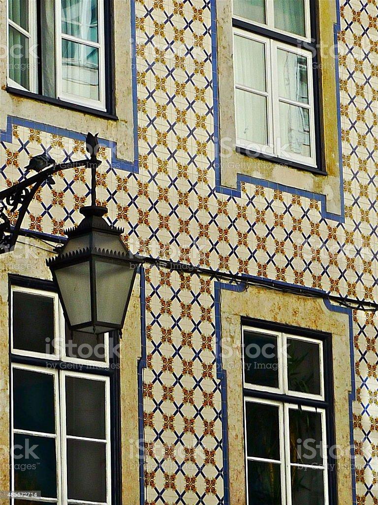 Lisbonne Azulejos Maison Carrelage Mosaïque Stock Photo More - C k carrelage