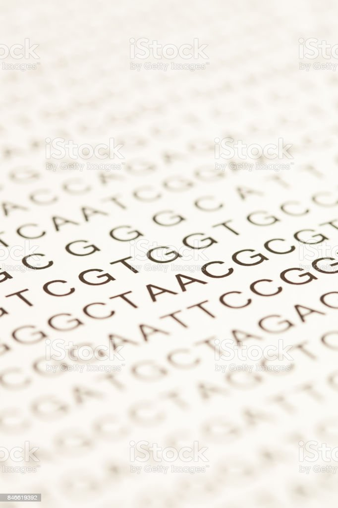 List of dna testing stock photo