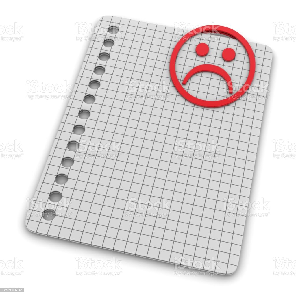 List Of Unsuccessful Things Paper Clip As Grief Emoticon