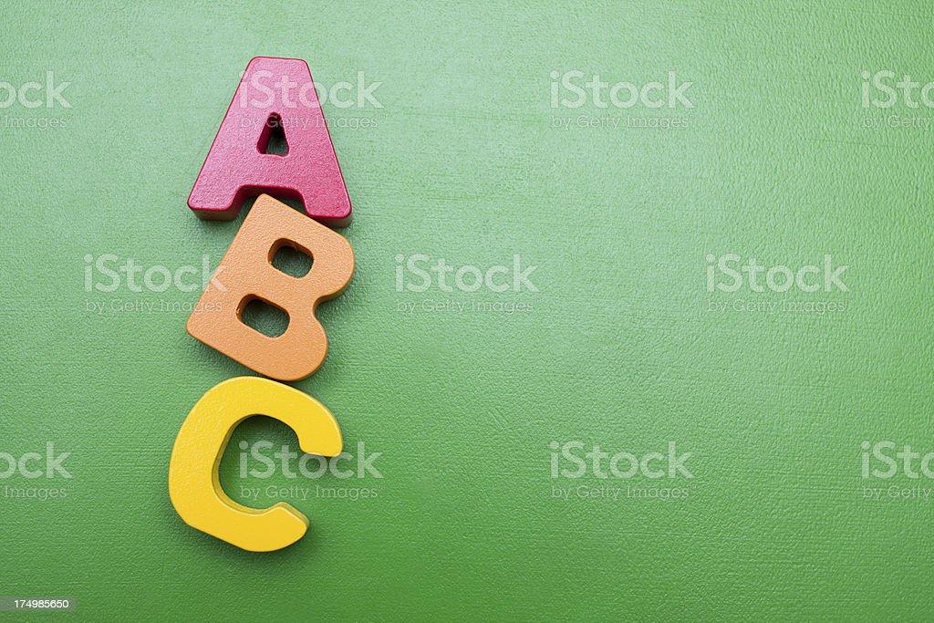 ABC list stok fotoğrafı
