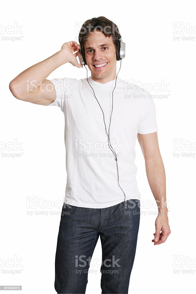 Listen to my music royalty-free stock photo