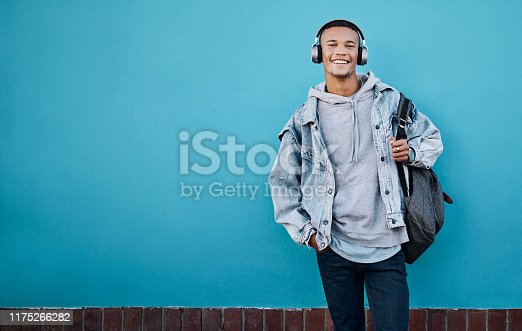 1165318420istockphoto Listen to some good music and get the good vibes going 1175266282