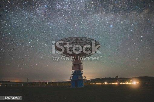 20m dish radio telescope