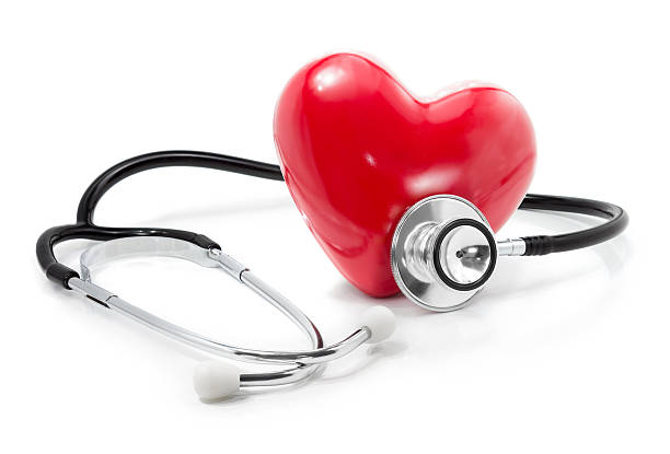 listen to your heart: health care concept - stethoscope stock pictures, royalty-free photos & images