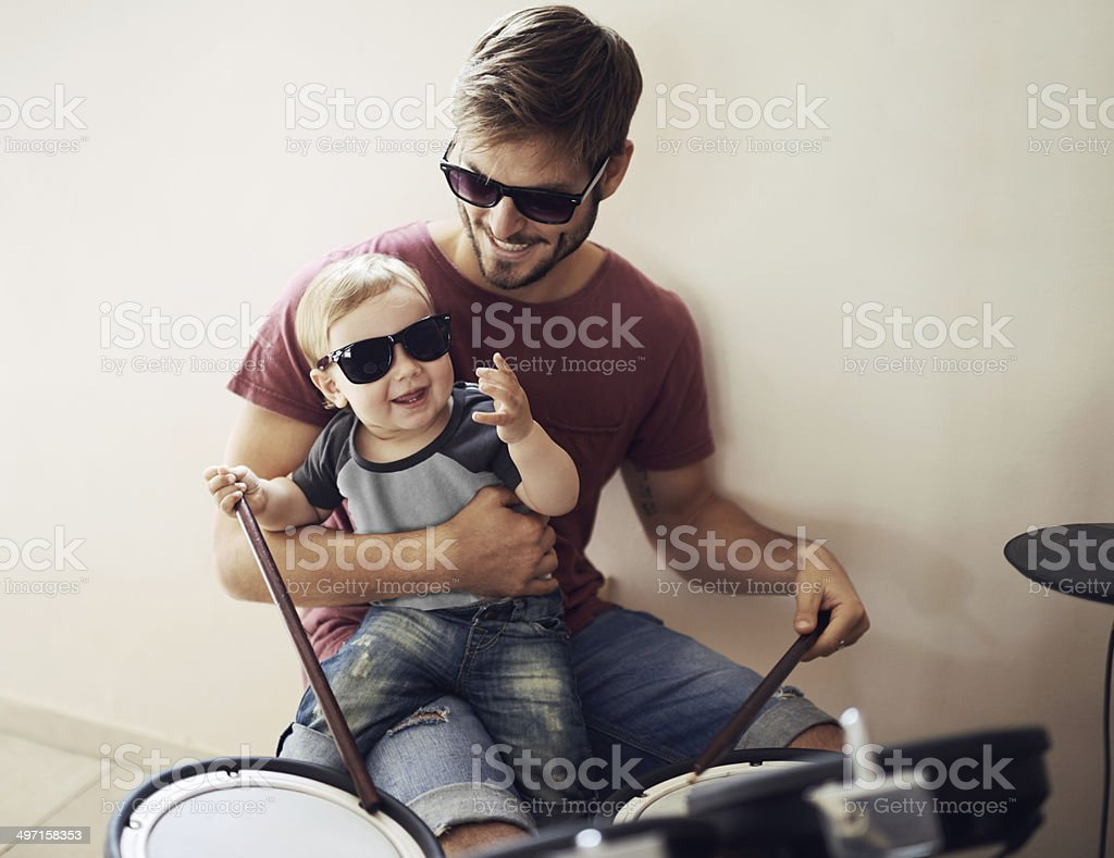 Listen....can you hear it? stock photo