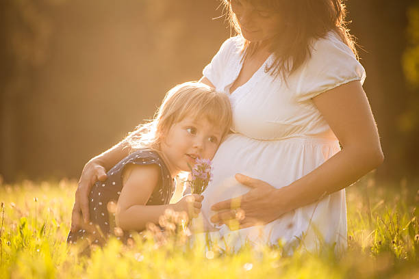 Zuhören Babys – Foto