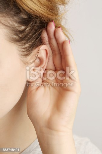 istock Listening gossiping 533748421