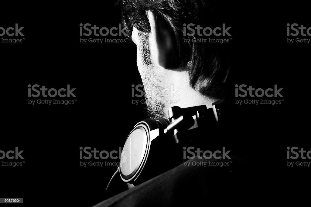 Listening royalty-free stock photo