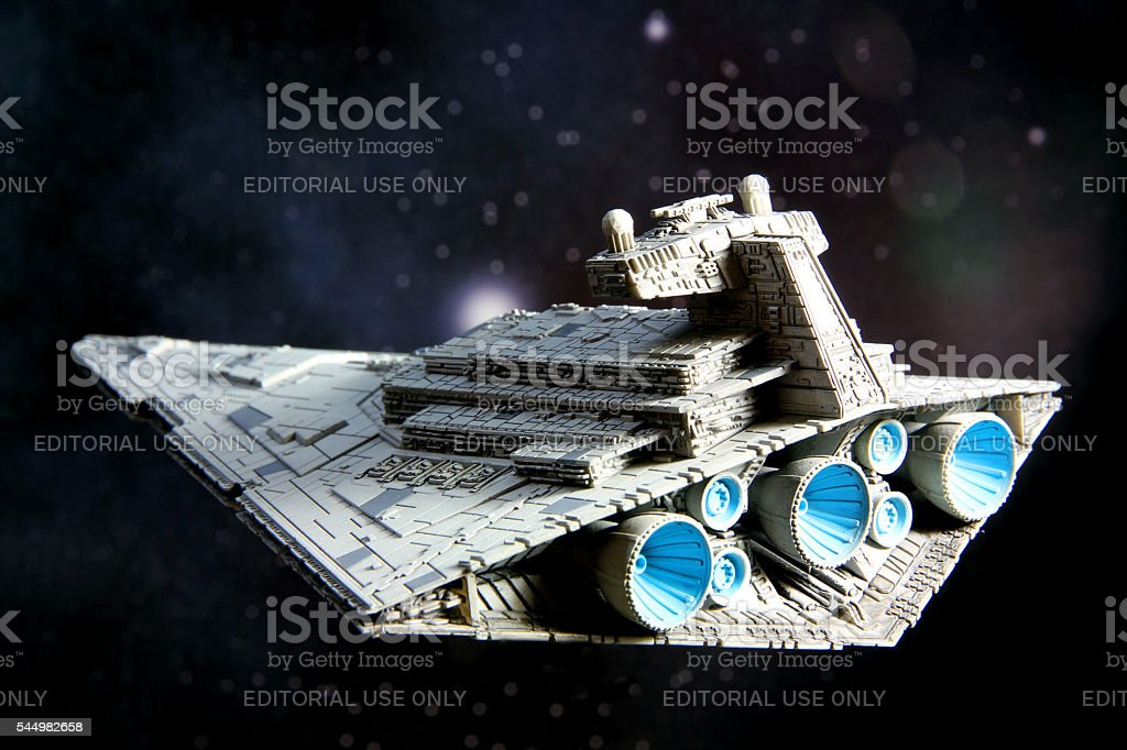 Listing in Space stock photo