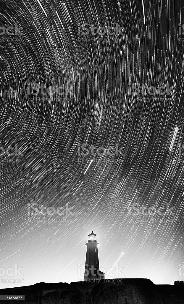 Lit by the Stars royalty-free stock photo