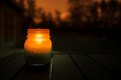 石工の jar ファイルで点灯ろうそく