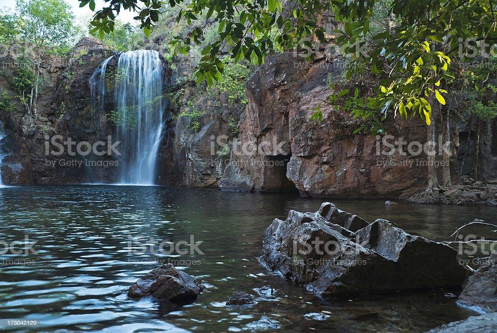 Litchfield National Park Waterfall royalty-free stock photo