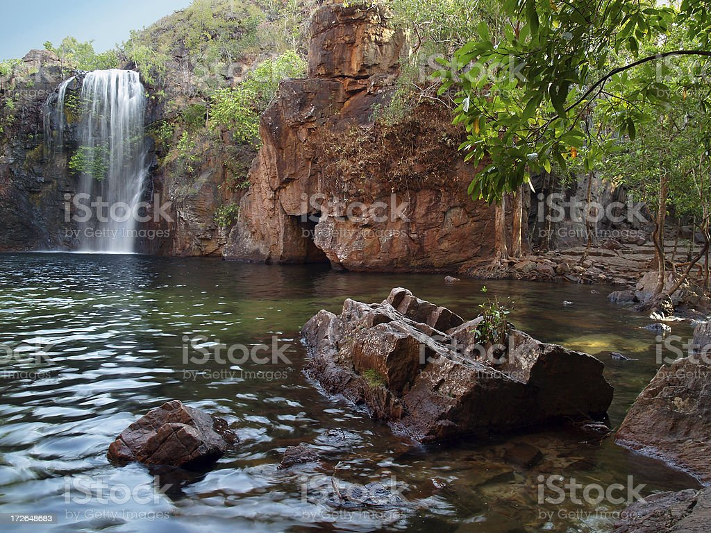 Litchfield Swimming Hole, Australia stock photo