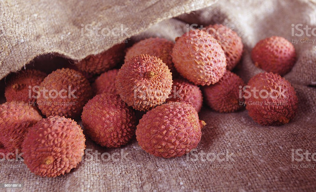 Litchi royalty-free stock photo