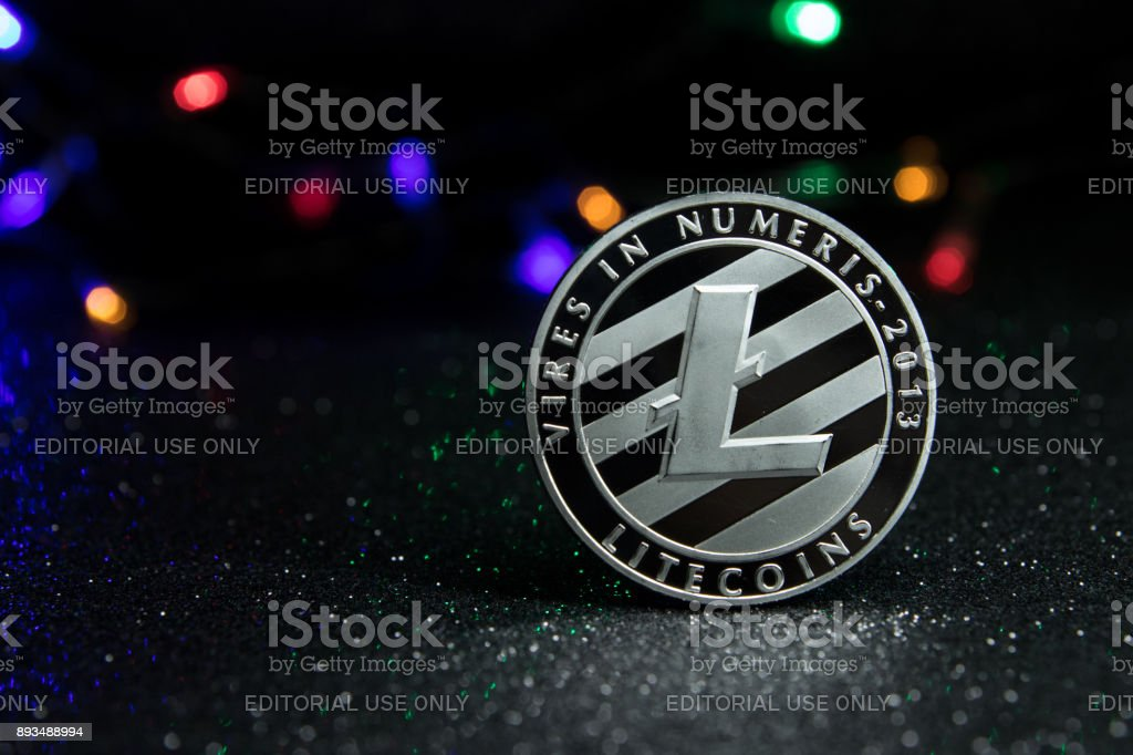 Litecoin stock photo